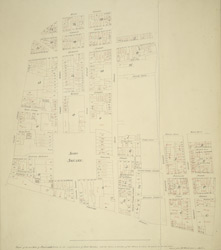 Plan of the late Duke of Portland's Estate in the neighbourhood of Soho Square